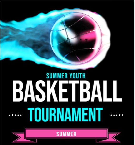 Summer youth basketball